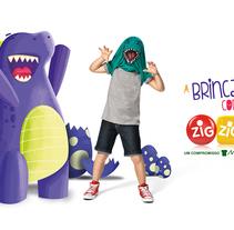 Zig Zig Zaa - A brincadeira começa com Zig Zig Zaa. Un proyecto de Publicidad de Junior Vendrami - 17-08-2015