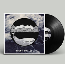 FLYING WALES, PUBLICIDAD Y ARTWORK PARA BANDA MUSICAL. A Illustration, Art Direction, Editorial Design, Graphic Design, and Product Design project by Silvia Salas         - 23.08.2015