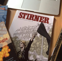 STIRNER Magazine. A Br, ing, Identit, Editorial Design, and Calligraph project by david martínez pérez - 25-08-2015
