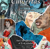 Cubiertas: Trece cubiertas literarias reimaginadas. A Illustration, Editorial Design, and Fine Art project by Edu Benavente         - 03.09.2015