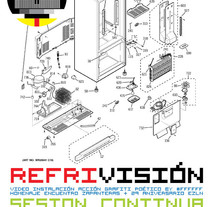 Cartel | Refrivisión Video Instalación. A Film, Video, TV, Curation, Cop, writing, Art Direction, Graphic Design, Events, and Video project by Demian  Abrayas - Sep 04 2015 12:00 AM