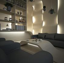 WOOD WAVES. Un proyecto de 3D, Arquitectura y Arquitectura interior de Guille Llano - 05-09-2015