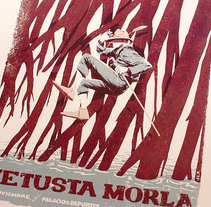 Vetusta Morla - Poster. A Illustration, Events, and Graphic Design project by Juan Esteban Rodríguez         - 06.09.2015