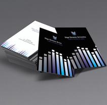 Diseño imagen coorporativa, Iñigo Gimenez Arrizurieta, Técnico superior de sonido. A Design project by Paula Terrón Zambrano         - 07.09.2015
