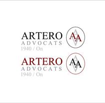 Artero Advocats /// #logo #branding. A Design, Br, ing, Identit, and Graphic Design project by Silvia Miralles Badia         - 01.05.2014