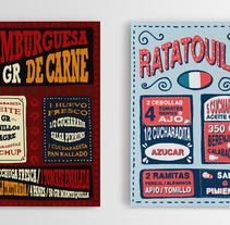 Handmade lettering. Um projeto de Design, Ilustração, Design gráfico, Tipografia, Escrita e Caligrafia de Carlos Sancho         - 06.10.2013