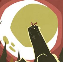 La maldición del Hombre Bobo . Un proyecto de Ilustración de Fran Collado - 20-05-2014