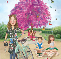 ilustraciones personalizadas 2. A Illustration project by Pilar   Sánchez Díaz         - 24.04.2016