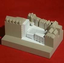 Maqueta del PFC de Albert Palazón. A Architecture project by hchmodel         - 23.09.2015