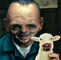 Hannibal. A Painting project by david_llamas         - 25.09.2015