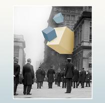 Only paper. Um projeto de Design, Artes plásticas, Design gráfico e Colagem de Marcos Martínez         - 27.09.2015