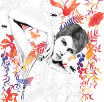 Vega. Un proyecto de Diseño, Ilustración, Moda, Bellas Artes y Diseño de interiores de Lucía Paniagua - 28-09-2015
