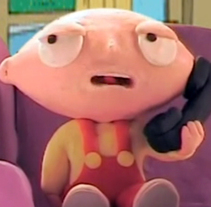 Stewie en Monegros. A Animation project by Borja Moll         - 01.10.2015