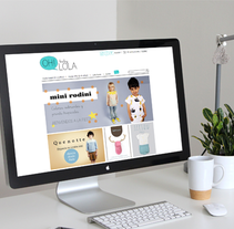 Tienda Online, Oh baby lola. A Br, ing, Identit, Art Direction, Graphic Design, and Web Design project by Daniela Setien - Oct 06 2015 12:00 AM