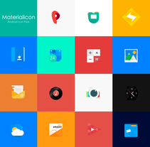 Materialicon. A UI / UX project by Jokin Lopez - Oct 08 2015 12:00 AM