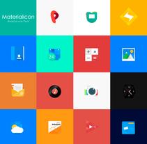 Materialicon. Um projeto de UI / UX de Jokin Lopez         - 07.10.2015