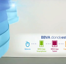 "BBVA ""Anywhere"". A Motion Graphics, Film, Video, TV, 3D, Animation, and Art Direction project by Rubén Rivas         - 09.06.2014"