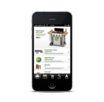 App Shop Leroy Merlin. A Design project by Carlos Etxenagusia - 11-10-2015