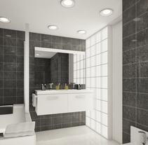 Baño. Un proyecto de 3D, Arquitectura interior y Diseño de interiores de Toni Ortin         - 16.10.2014
