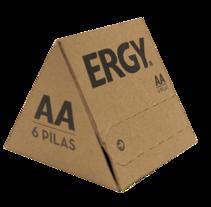 ERGY. Un proyecto de Diseño gráfico y Packaging de Núria Alarcón Giné - 18-05-2014