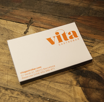 Vita Gastrobar. Un proyecto de Dirección de arte, Br, ing e Identidad, Diseño editorial, Diseño gráfico y Diseño Web de Javier P         - 20.10.2015