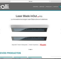 ITALLI ILUMINACIÓN. A Web Design project by Juan Pablo Calderón Preciado - 31-07-2014