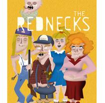 THE REDNECKS (Mi Proyecto del curso Diseño y Creación de Personajes). Um projeto de Ilustração e Design de personagens de pardo         - 24.10.2015