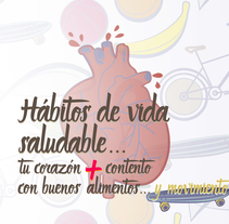 Stop Motion: Hábitos de vida saludable. A Illustration, Music, Audio, Graphic Design, Interactive Design, T, pograph, and Calligraph project by Scherezade          - 25.10.2015