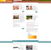 Institut de l'Estrès. Un proyecto de Diseño Web de La Teva Web Diseño Web  - Martes, 27 de octubre de 2015 00:00:00 +0100