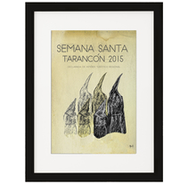 Cartel anunciador Semana Santa 2015. A Design project by Pepe Aragón - 25-02-2015