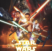 Star Wars: The Force Awakens. A Illustration, and Film project by Laura  Racero         - 28.10.2015
