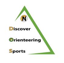 Logo de Discovering Orienteering Sports. Un proyecto de Br e ing e Identidad de Carlos Enrique Mur Sabio - 28-10-2015