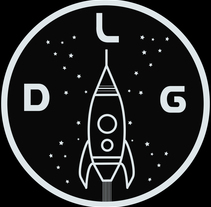 Logo espacial Dallasgracias. A Illustration, Graphic Design, and Product Design project by Laura Merens Vázquez - 02-11-2015