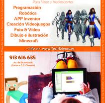 Diseño publicitario para diversos soportes: revista, marquesina, periódico. A Design, Advertising, Br, ing, Identit, Editorial Design, Graphic Design, and Marketing project by Laura García         - 31.08.2015