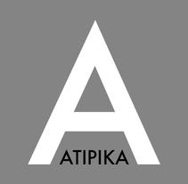 Atipika. Um projeto de Design gráfico de Josep Biset Nadal         - 08.11.2015