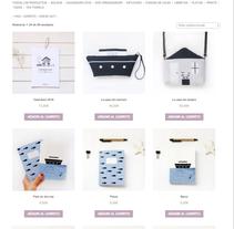 Mi tienda online. Un proyecto de Diseño de producto, Diseño Web e Ilustración de Nuria Diaz - Martes, 10 de noviembre de 2015 00:00:00 +0100