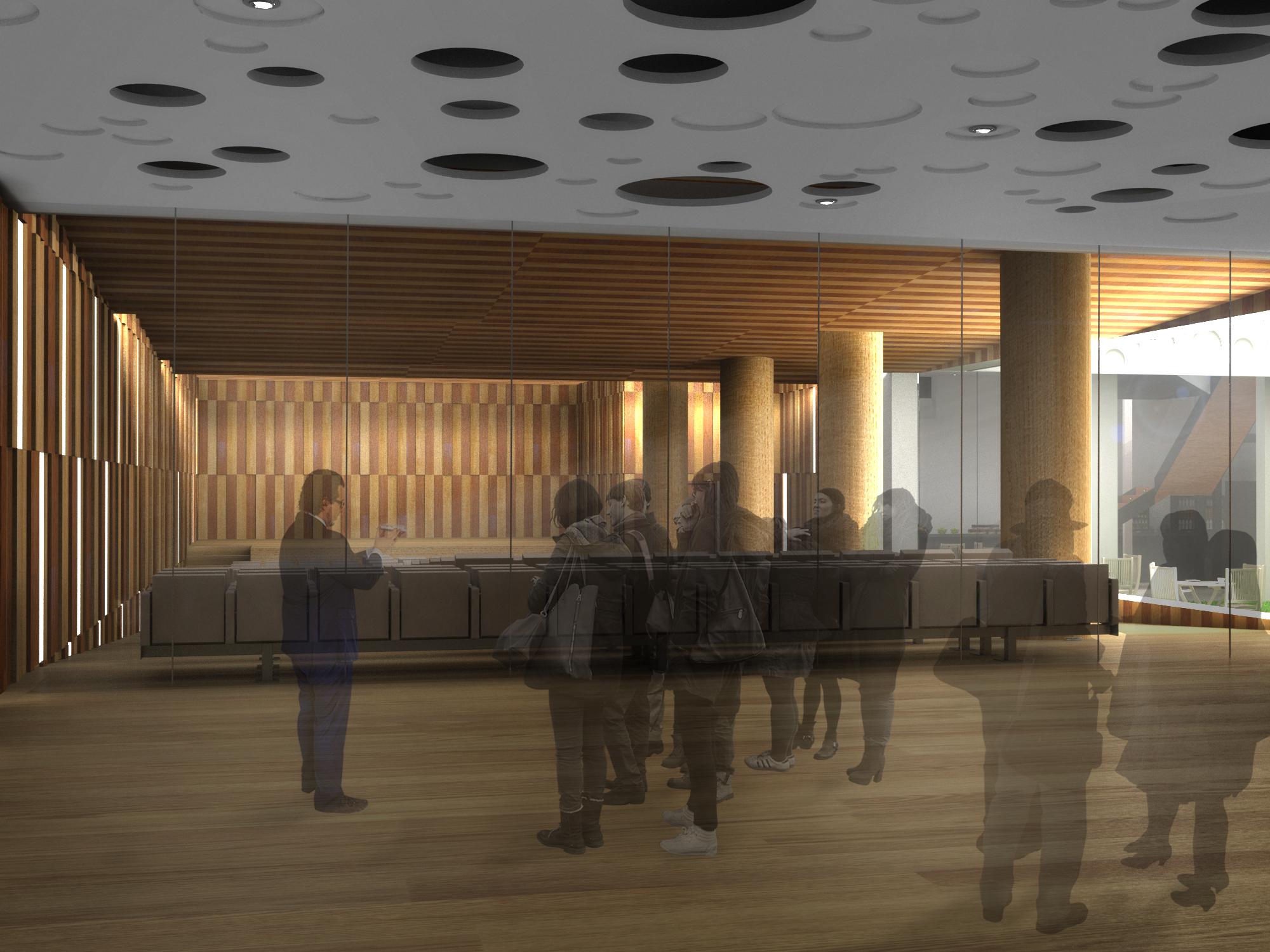 Concurso colegio de arquitectos madrid domestika - Arquitectos madrid ...
