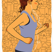 Runners in the city. A Illustration project by Bernat Muntés - Nov 15 2015 12:00 AM