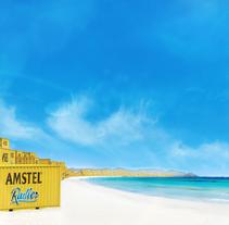 kv Amstel Radler. A Design, Advertising, Br, ing, Identit, and Graphic Design project by Javier Francés         - 16.06.2015