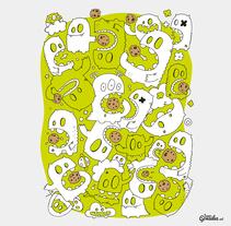 Cookies monsters. Un proyecto de Ilustración de Isaac González         - 17.11.2015