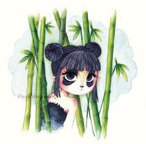 AnimalGirl. Un proyecto de Ilustración de Monica Esteo Ruiz - 19-11-2015
