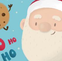 Santa Claus. Um projeto de Design, Ilustração, Direção de arte, Design de personagens, Design gráfico, Pintura e História em quadrinhos de Ivy Nunes         - 19.11.2015