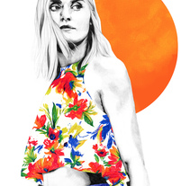 Orange. A Design, Illustration, Fashion, and Fine Art project by Lucía Paniagua         - 24.11.2015