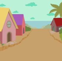 Childish illustration. Un proyecto de Ilustración, Animación, Diseño de personajes, Educación, Paisajismo, Escritura y Vídeo de Nayla Novotny Cussatti         - 27.11.2015