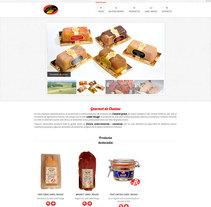 Desarrollo web para Gourmet de Chaloss. Un proyecto de Desarrollo Web de Itziar Olazabal Alonso         - 01.12.2015
