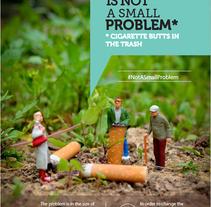 #ThisIsNotASmallProblem. Um projeto de Publicidade, Direção de arte, Cop e writing de Joana Pereira         - 01.12.2015