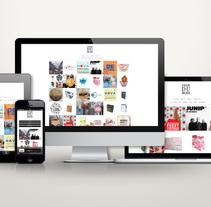 Portfolio Website | Graphic designer Deer du Bois. A Web Design, and Web Development project by miqlangl         - 01.12.2015