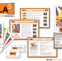 BLA3 | Actividades Multilingües - Dirección Creativa / Arte / Project Manager . Un proyecto de Publicidad, Dirección de arte, Diseño gráfico, Marketing y Diseño Web de Sergi Vidal Paris         - 02.12.2015