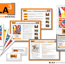 BLA3 | Actividades Multilingües - Dirección Creativa / Arte / Project Manager . A Advertising, Art Direction, Graphic Design, Marketing, and Web Design project by Sergi Vidal Paris         - 02.12.2015