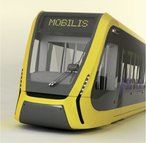 Modeling - Mobilis tramway. A 3D&Industrial Design project by Alex Echard         - 03.12.2015